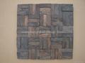 wood mosaic panels cumaru sapwood