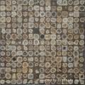椰壳马赛克,椰壳板饰面板  5