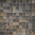 漂白椰壳马赛克装饰板JH-K27 4