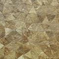 白色椰子壳裂纹拼装饰板