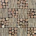 室内高低不平树枝板 3D墙板 4