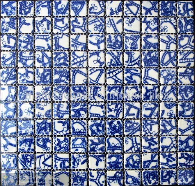自由形状窑变陶瓷马赛克 5