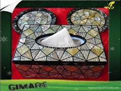 handmade MOP tissue box