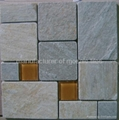 slate mosaic manufacture supply