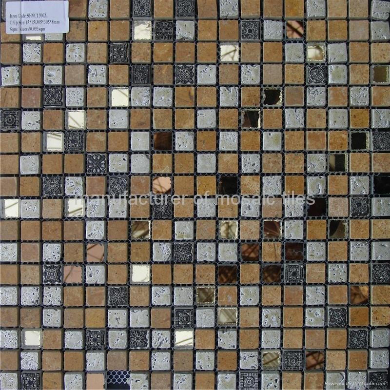 石材玻璃墙面马赛克 5
