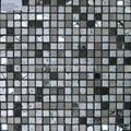 黑色石材马赛克装饰 5