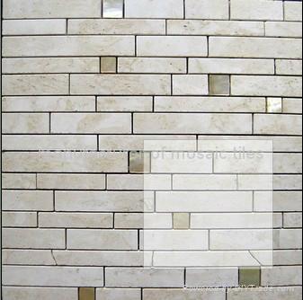 stone mosaic big size slate 4