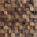 old ship wood mosaic panel