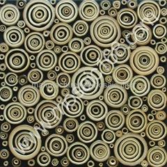 天然竹圈装饰板
