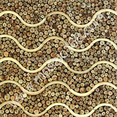 木头树枝背景墙板