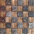 DIY coconut resin mosaic
