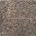 cumaru wood mosaic wall panels  2