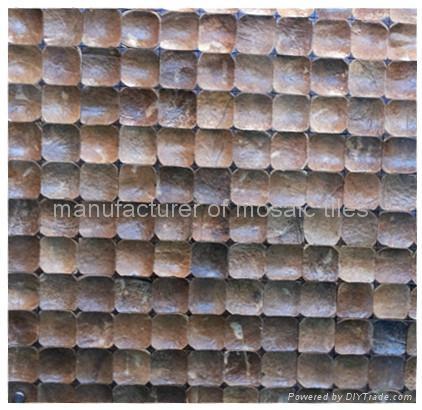 磨面椰壳墙面马赛克 4