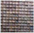 Coconut mosaic wood tile JH-K29