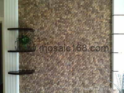 椰壳马赛克家具面板 3