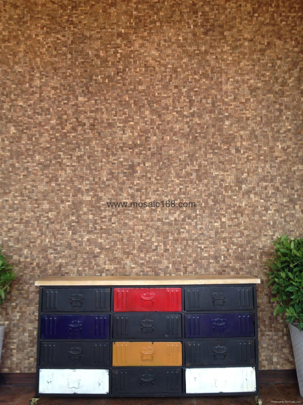 椰壳马赛克家具面板 5