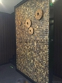 Coconut mosaic panel manufacture supply