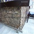 cumaru wood mosaic panels