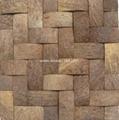 手工椰殼牆面板