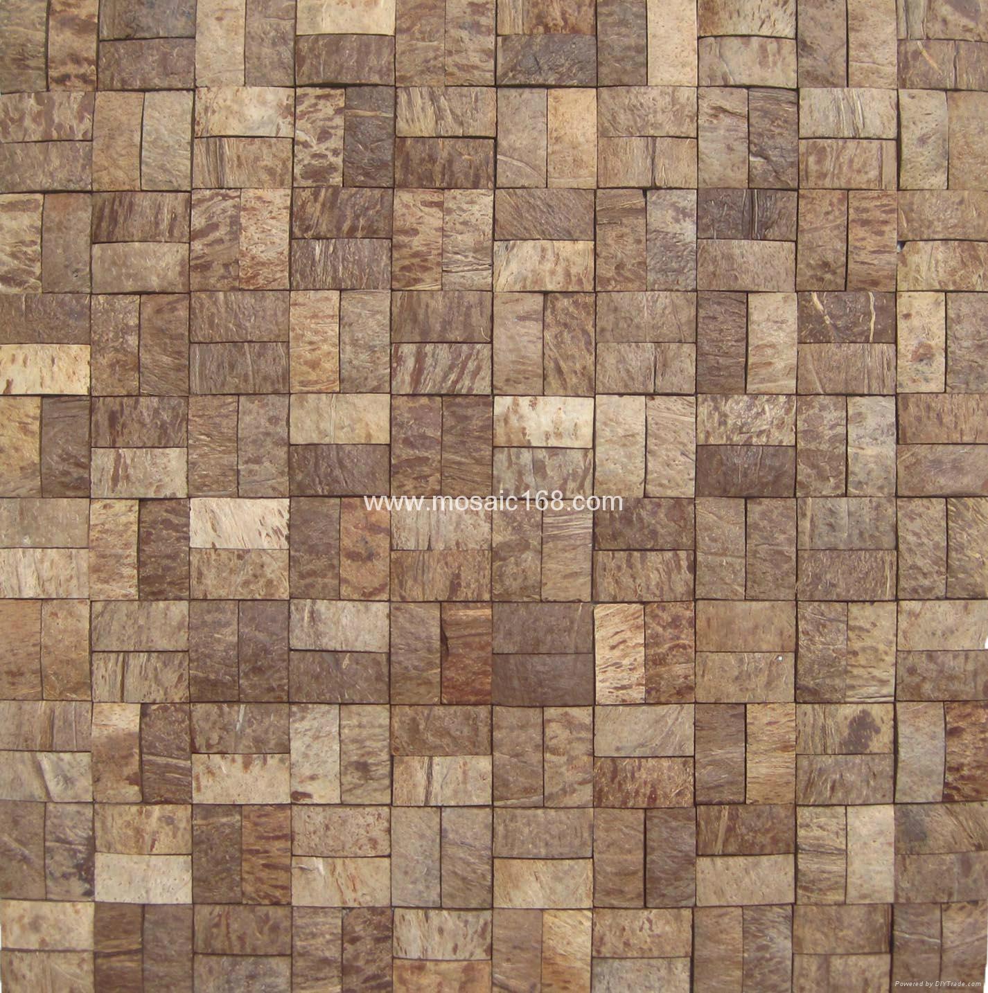 Brick Design Mosaic Coconut Tiles China Manufacturer