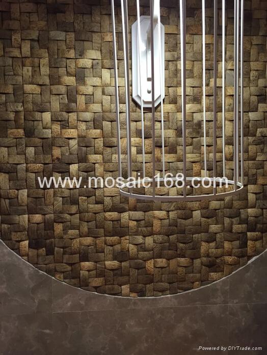 东南亚风格椰壳马赛克 1