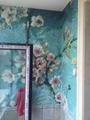 客厅背景墙玻璃马赛克拼花 5