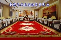 龍祥藝朮玻璃酒店背景牆