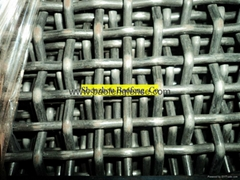 Crimped Wire Mesh Quarry Screen Mesh Wire Mesh Crusher Screen Space Cloth