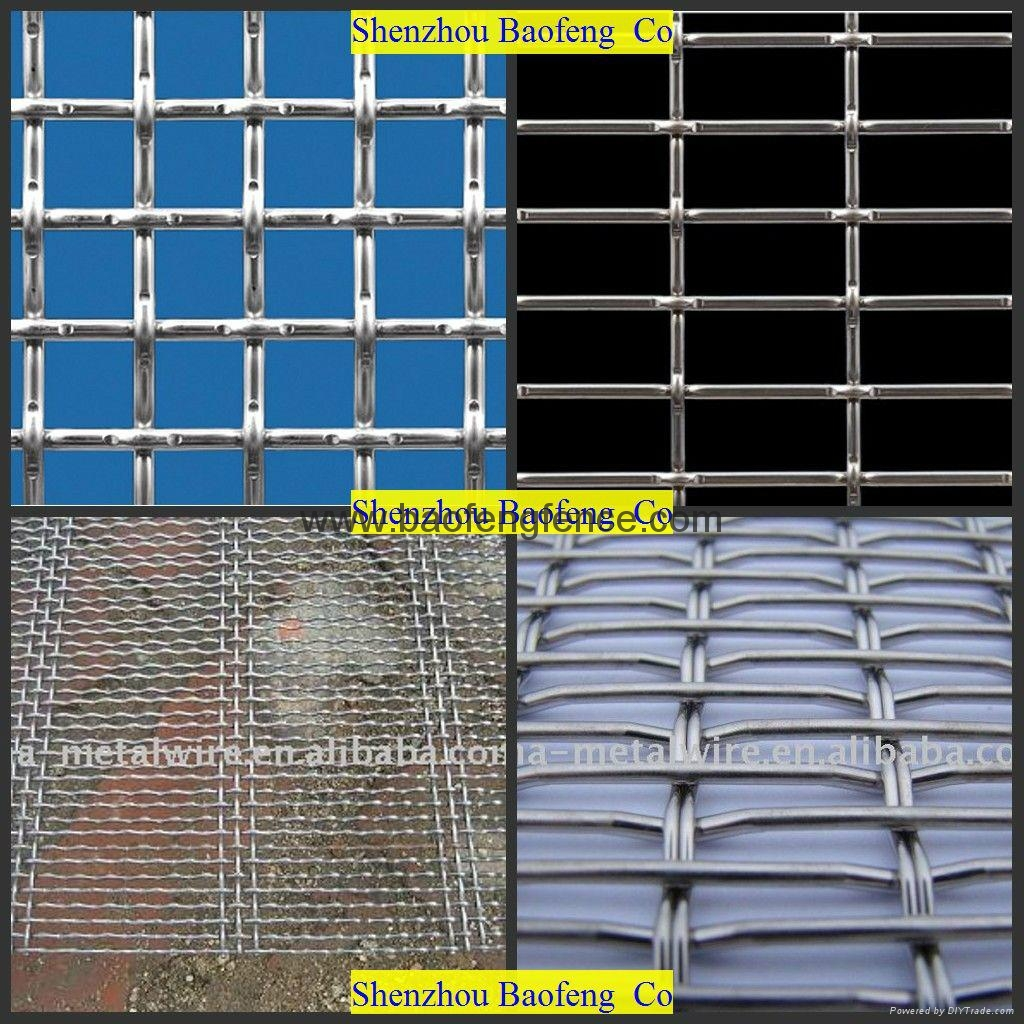 Crimped Wire Mesh Quarry Screen Mesh Wire Mesh Crusher Screen Space Cloth 3