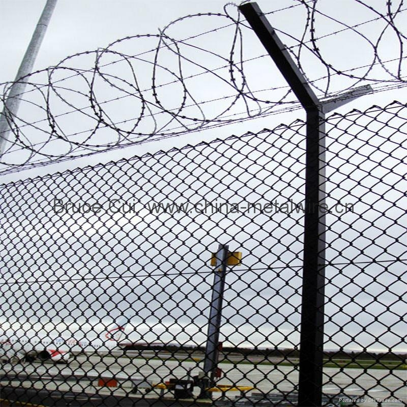 Woven Wire Mesh Panels   Galvanized Chain Link Fence Woven Wire Mesh Fence Bf Cf