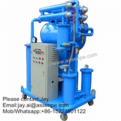 600LPH Portable insulating oil purifier system machine