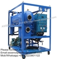 Explosion-proof type HV Transformer Oil Treatment machine