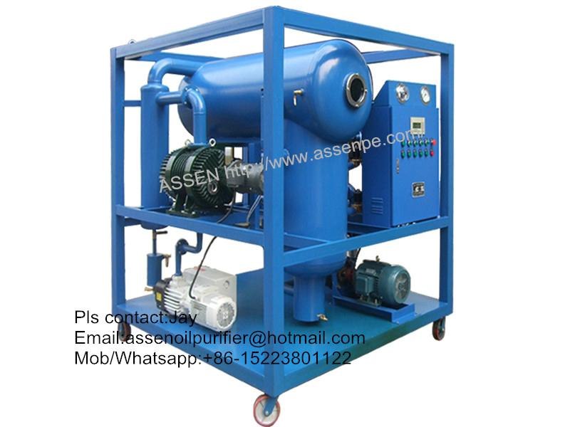 ZYD transformer oil treatment machine,maintenance of oil type transformer
