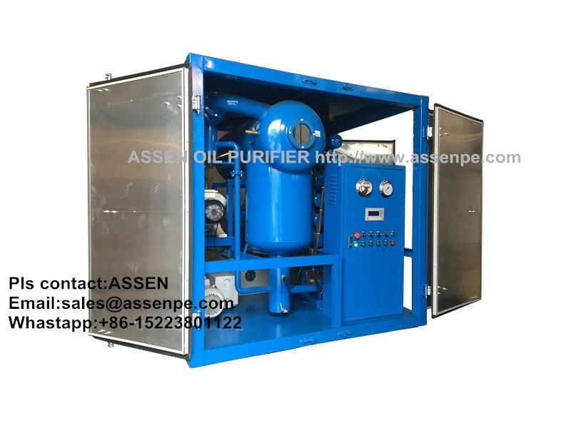 PLC Fully Automated Transformer Oil Purifier machine 1