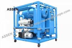 Double Stage High Vacuum Insulating Oil Purification Process Machine