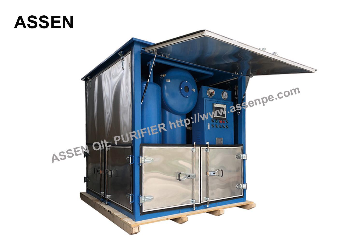 ZYD 30 Model Power Transformer Oil Filtration Machine 1