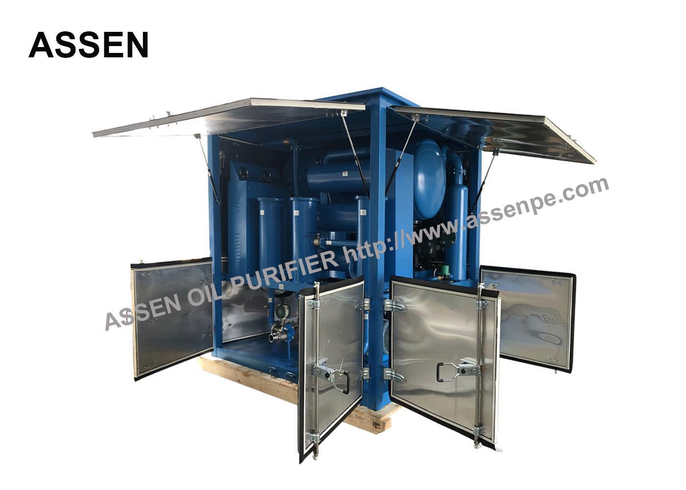 ZYD 30 Model Power Transformer Oil Filtration Machine 3