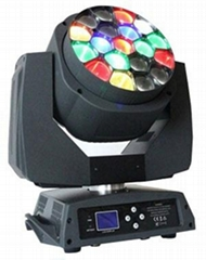 Dj Light 19*15W LED Moving Head Light With Zoom K10