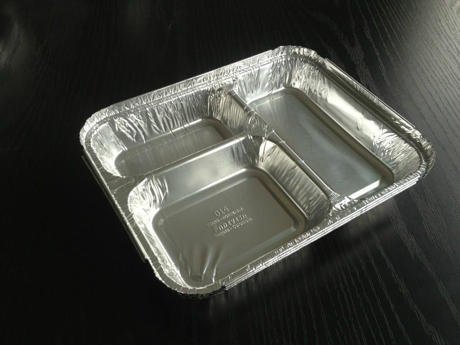 Three Compartment Aluminum Container Mould
