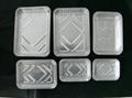 Customizable Healthy Aluminum Foil Container Foil Lunch Box Mould 6