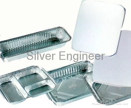 铝箔餐盒纸盖 4