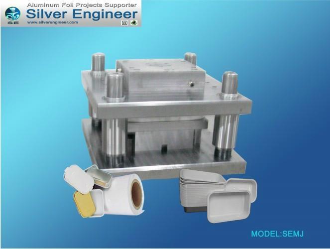 铝箔无皱容器模具 7