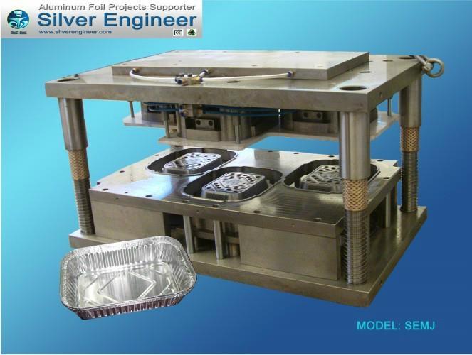 Aluminum Foil Container Cavities Mould 2