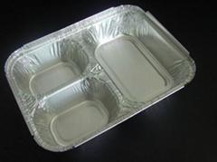 T型三腔餐盒模具