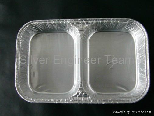 航空铝箔餐盒模具 2