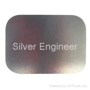 铝箔餐盒纸盖 2