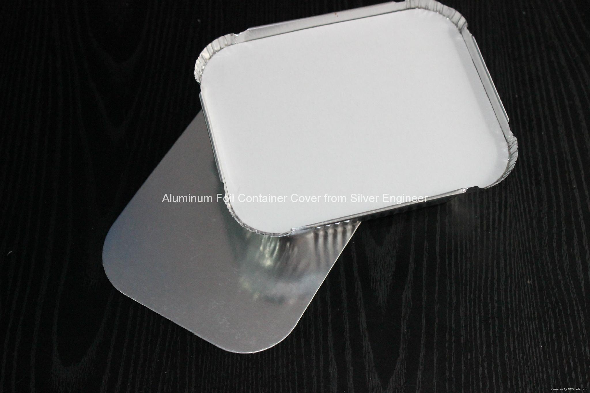 铝箔餐盒纸盖 7