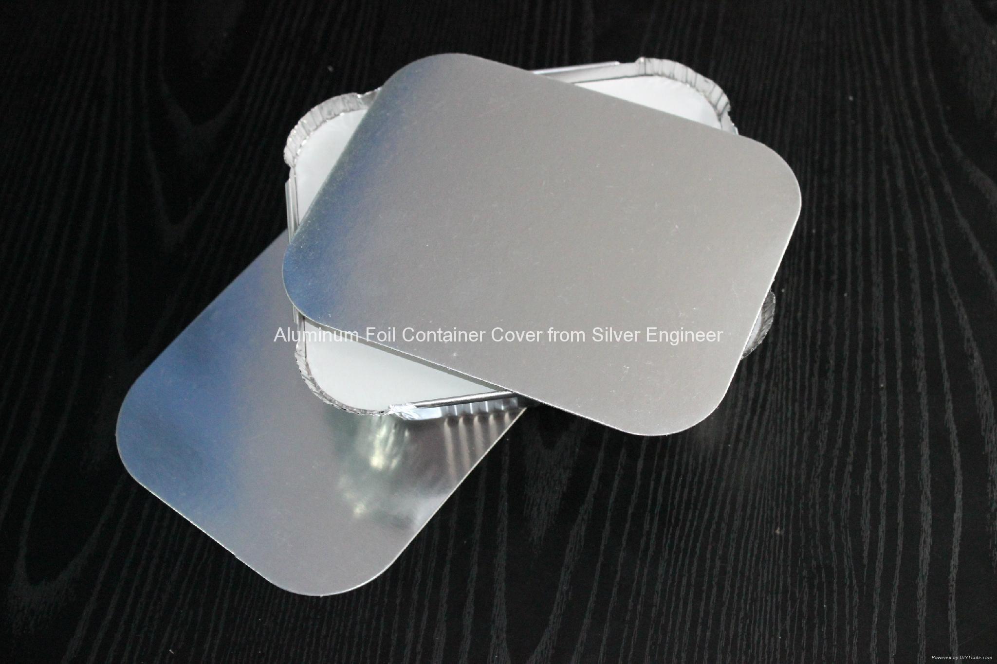 铝箔餐盒纸盖 6