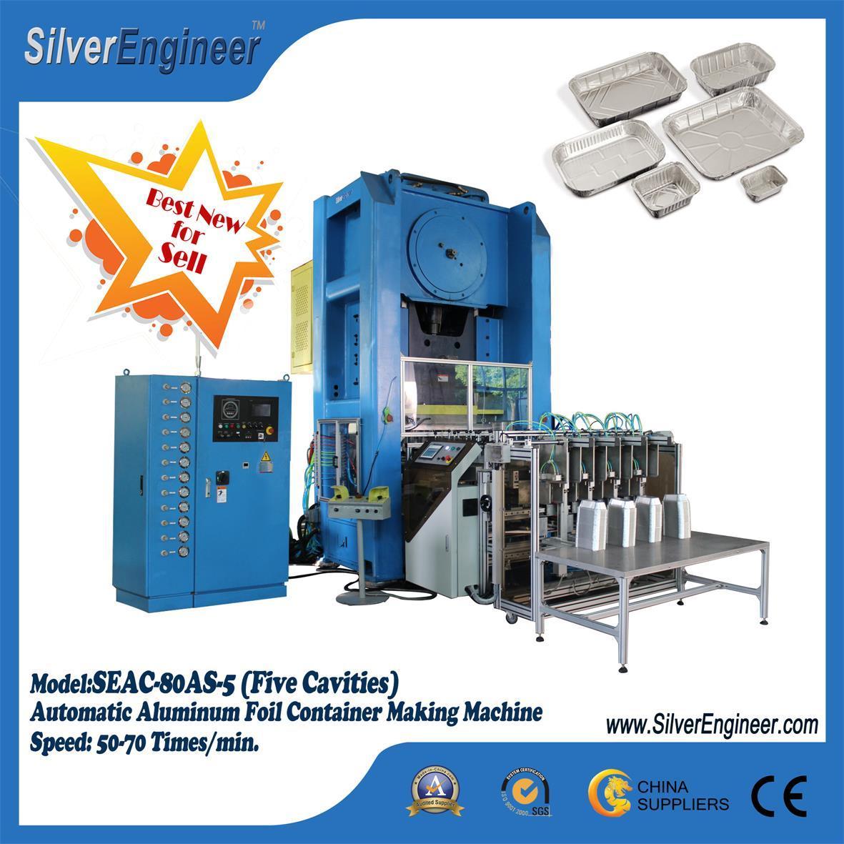 Smart Aluminium Foil Container Making Machine 110Ton 1