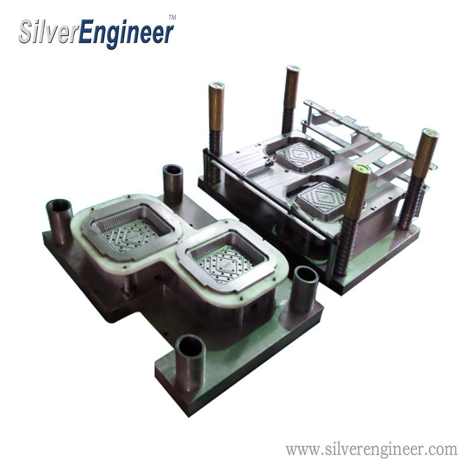 Aluminium Foil Container Mould for Italy Press Machine From Silverengineer 12